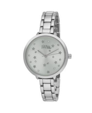 Women's Silver-Tone Alloy Bracelet Link Watch