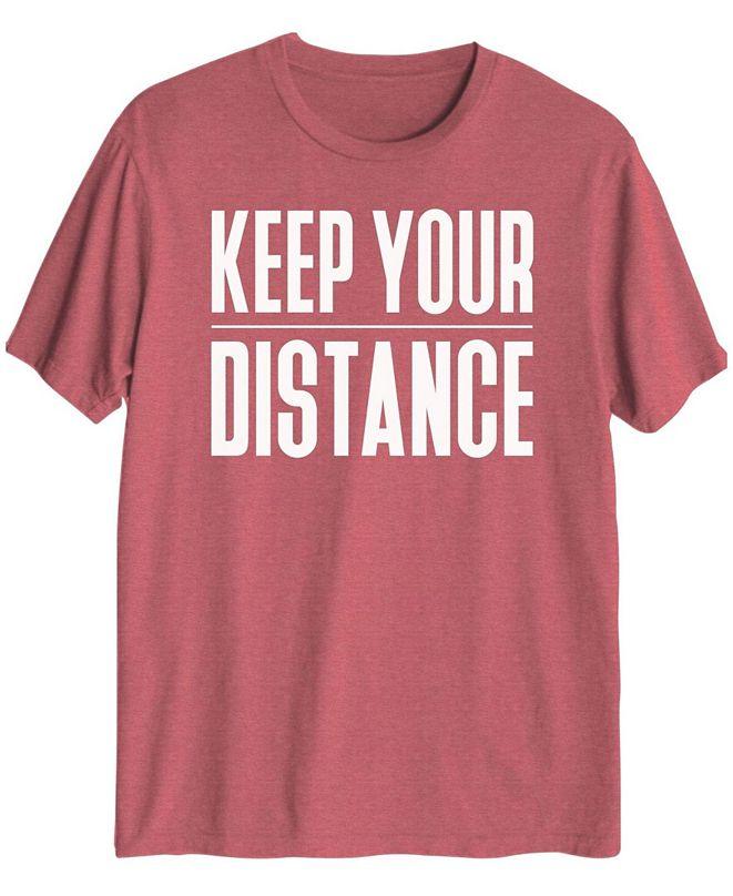 Hybrid Men's Keep Your Distance Short Sleeve T-shirt