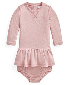 Ralph Lauren Baby Girls Terry Dress & Bloomer