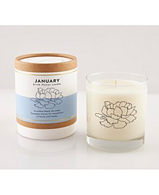 January Soy Candle