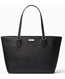 Laurel Way Leather Medium Dally Tote