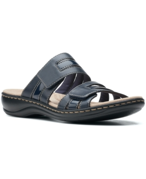 Clarks Sandals LEISA ZOE SLIP-ON SANDALS WOMEN'S SHOES