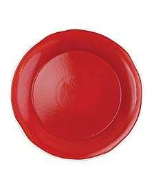 Chroma Red Round Platter