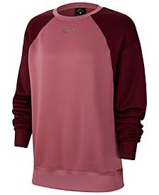 Plus Size Therma Colorblocked Crewneck Top