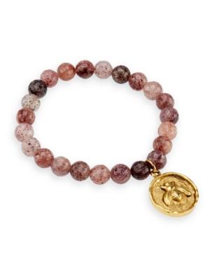 Quartz Gemstone Beaded Bracelet