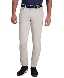 Men's The Active Series City Flex Traveler Slim-Fit Ripstop Dress Pants