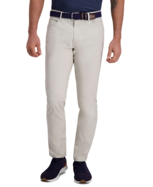 The Active Series City Flex Traveler Slim Fit Flat Front 5-Pocket Casual Pant (Ripstop)