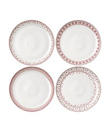 """Crafted By Royal Doulton® Holiday Dinner Plate 11"""" Set/4"""