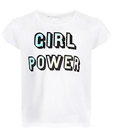 Little Girls Girl Power T-Shirt, Created for Macy's