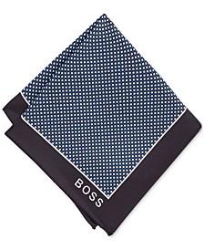 BOSS Men's Printed Pocket Square