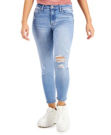 Juniors' Ankle Skinny Jeans
