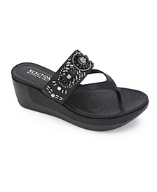 Women's Pepea Cross Glam Sandals