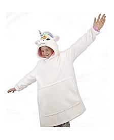 Poppy Unicorn Blanket Sweatshirt
