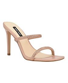 Zarleen Women's Heeled Slide Sandals