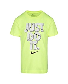 "Toddler Boys ""Just Do It"" Logo Graphic T-Shirt"