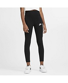 Sportswear Big Girl's High-Waist Leggings