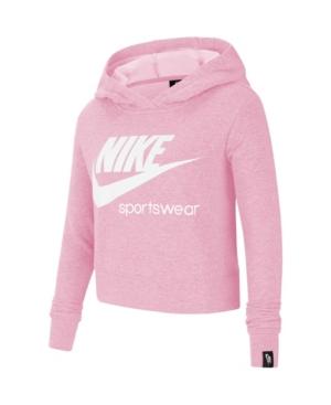 Nike SPORTSWEAR HERITAGE BIG GIRL'S PULLOVER HOODIE