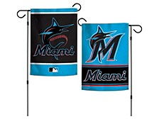 Miami Marlins Garden Flag