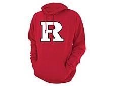 Rutgers Scarlet Knights Men's Screenprint Big Logo Hooded Sweatshirt