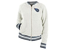 Women's Tennessee Titans Sherpa Bomber Jacket
