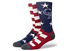 Colorado Rockies Brigade Socks