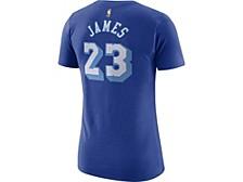 Women's Los Angeles Lakers Hardwood Classics Player T-Shirt - LeBron James