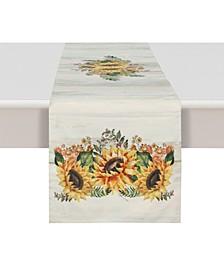Sunflower Day 13x90 Table Runner