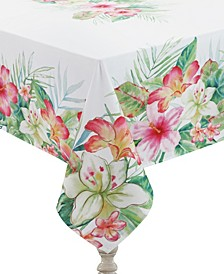 Tropical Island 70x84 Tablecloth