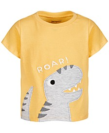 Baby Boys Roar Dino Cotton T-Shirt, Created for Macy's