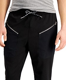 Men's Quicksand Zip-Pocket Jogger Pants, Created for Macy's