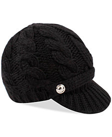 Michael Michael Kors Super Cable Peak Hat