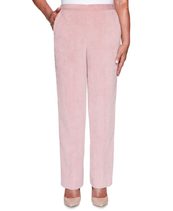Alfred Dunner Petite St. Moritz Textured Proportioned Pants & Reviews - Pants - Petites - Macy's