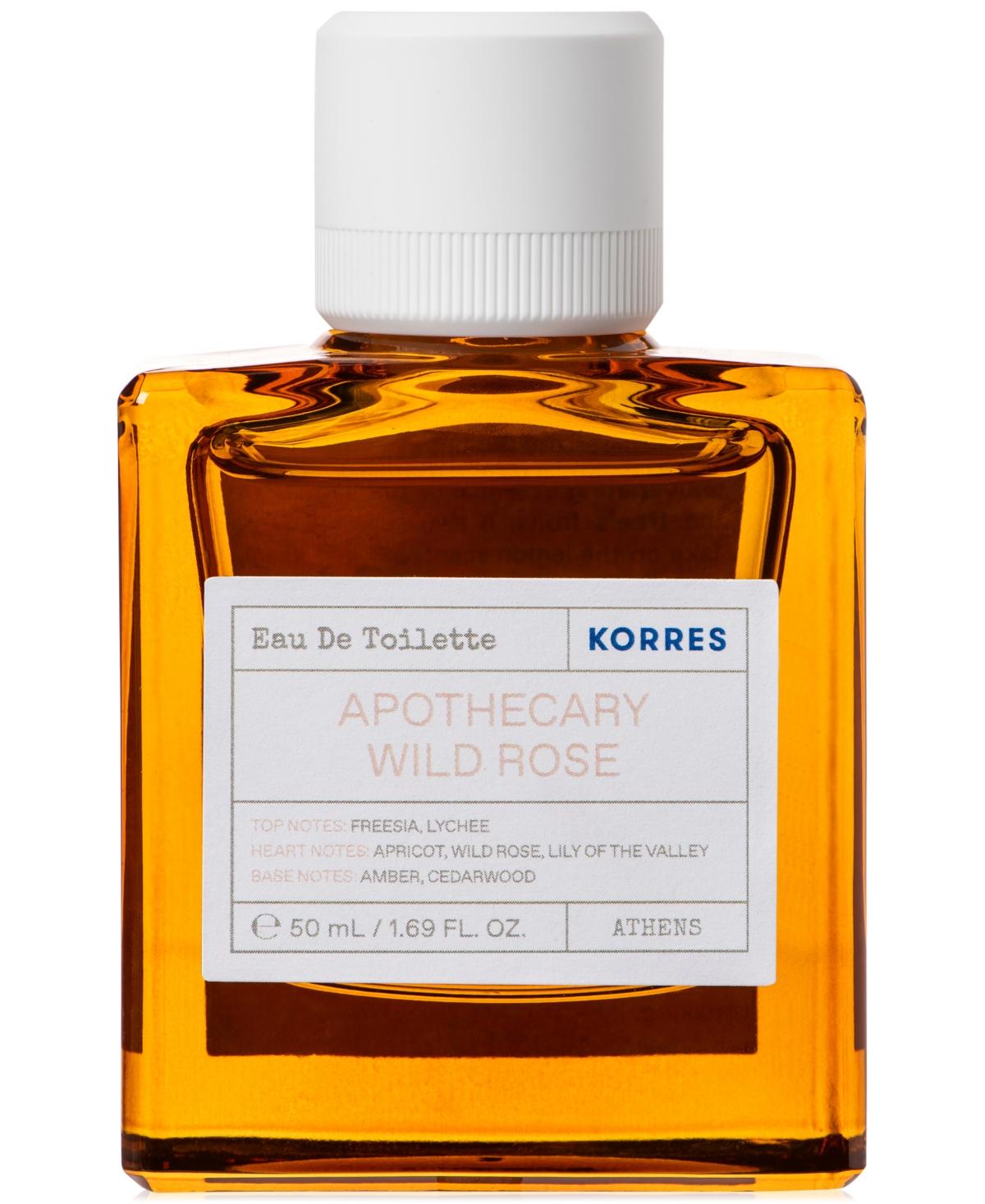 Korres Apothecary Wild Rose Eau de Toilette, 50 ml