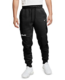 Men's Air Logo Fleece Jogger Pants