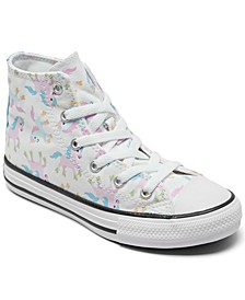 Little Girls Chuck Taylor All Star Unicorn Casual Sneakers from Finish Line
