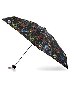 Water Resistant Mini Manual Purse Umbrella