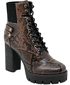 Women's Wyatt Lug Sole Booties