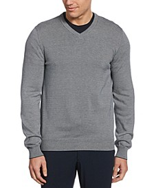 Men's Long Sleeve V-Neck Sweater