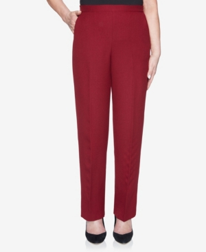 Women's Misses Madison Avenue Textured Proportioned Short Pant