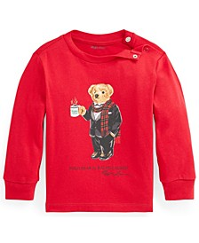 Ralph Lauren Baby Boys Polo Bear Graphic Tee