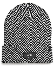 Men's New York Patch Beanie