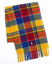 폴로 랄프로렌 스카프 Polo Ralph Lauren Mens Recycled Plaid Cold Weather Scarf