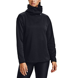 Women's Fleece Funnel-Neck Sweatshirt
