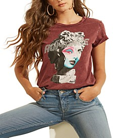 Romance Statue Easy Graphic T-Shirt