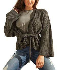 Luiza Drop-Shoulder Kimono Sweater