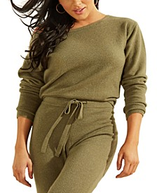 Tanya Boat-Neck Pullover Sweater