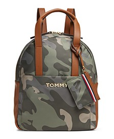Daniella Camo Backpack