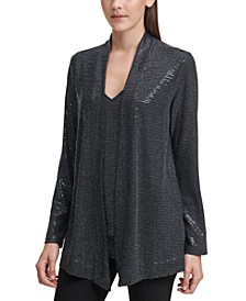 Layered Embellished Top