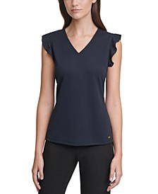X-Fit V-Neck Top