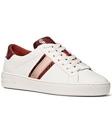 Irving Side-Striped Lace-Up Sneakers